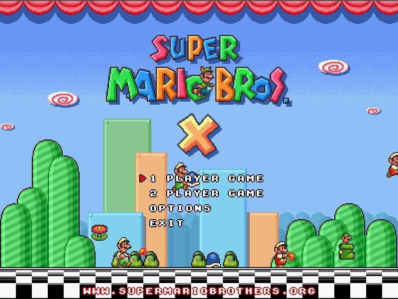 Super Mario X