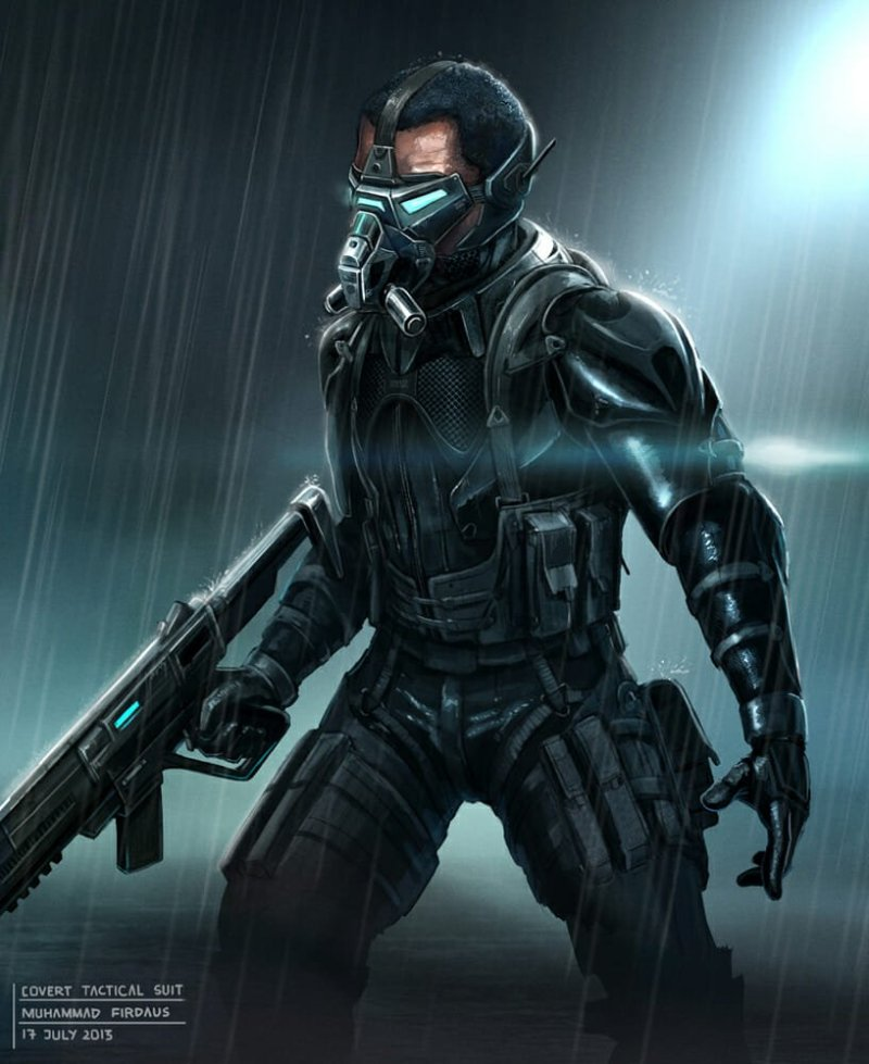 Covert Tactical Suit por Freakyfir