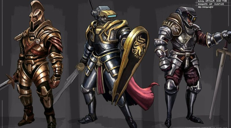 King Arthur and the Knights of Justice por Freakyfir