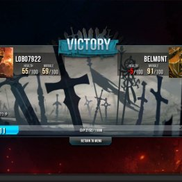 ¡Obtengo una victoria finalmente!