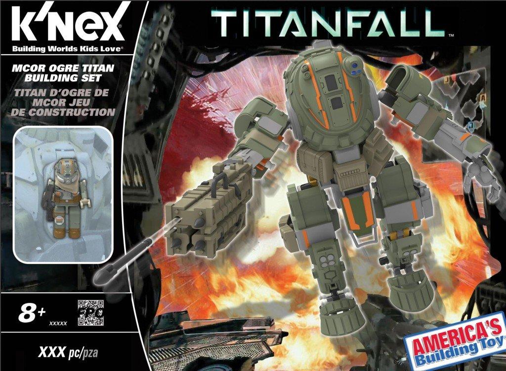 K'Nex Titanfall MCOR Ogre Titan