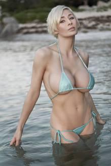 Marie Claude Bourbonnais Bikini