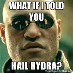 Hail Hydra Morpheus