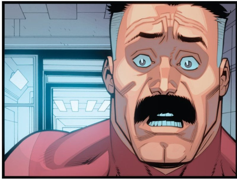 Invincible 111- Nolan Face