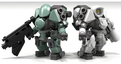 Tesla Troops Annihilator Suit II