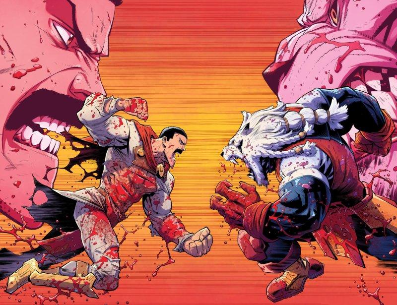 Thragg vs Batle Beast