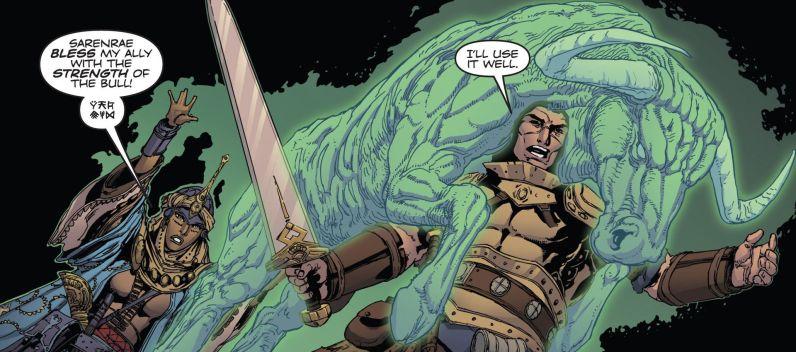 Pathfinder Comics Fuerza de Toro