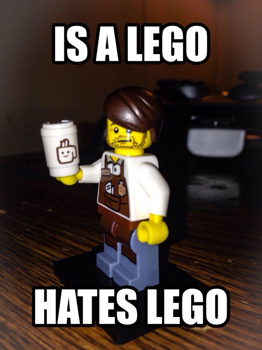Hates LEGO