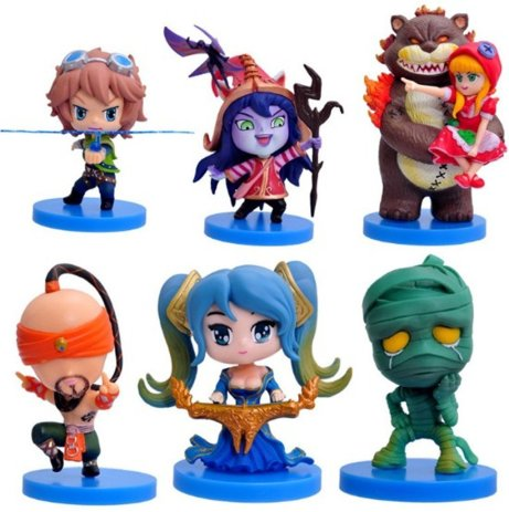 League f Legends Toys Grupo 2