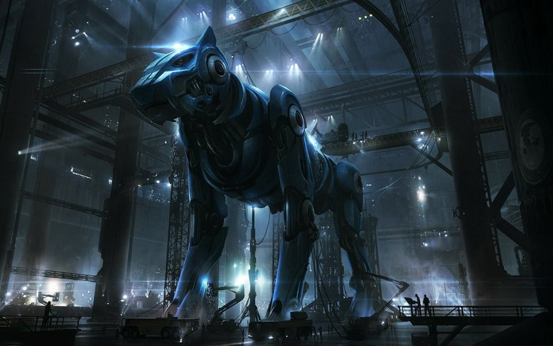 Futuristic Wolf