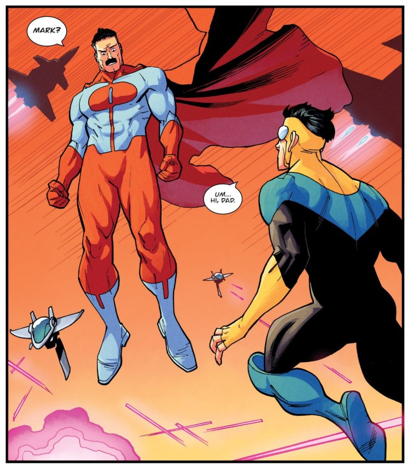 Invincible 124 Mark Nolan Moment