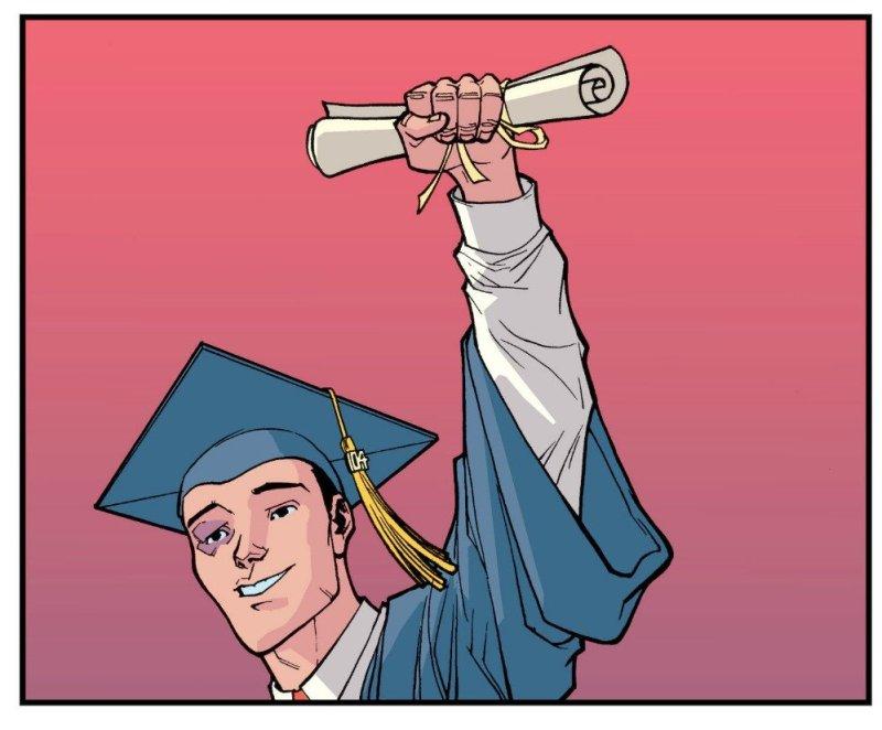Invincible Markus Sebastian se gradua