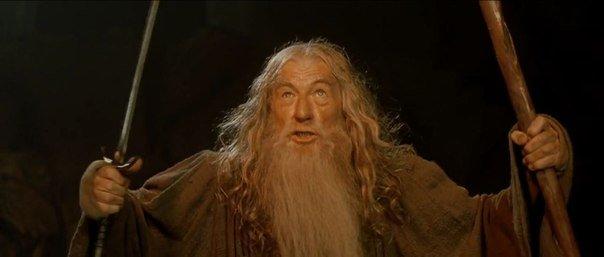 Gandalf A dos armas