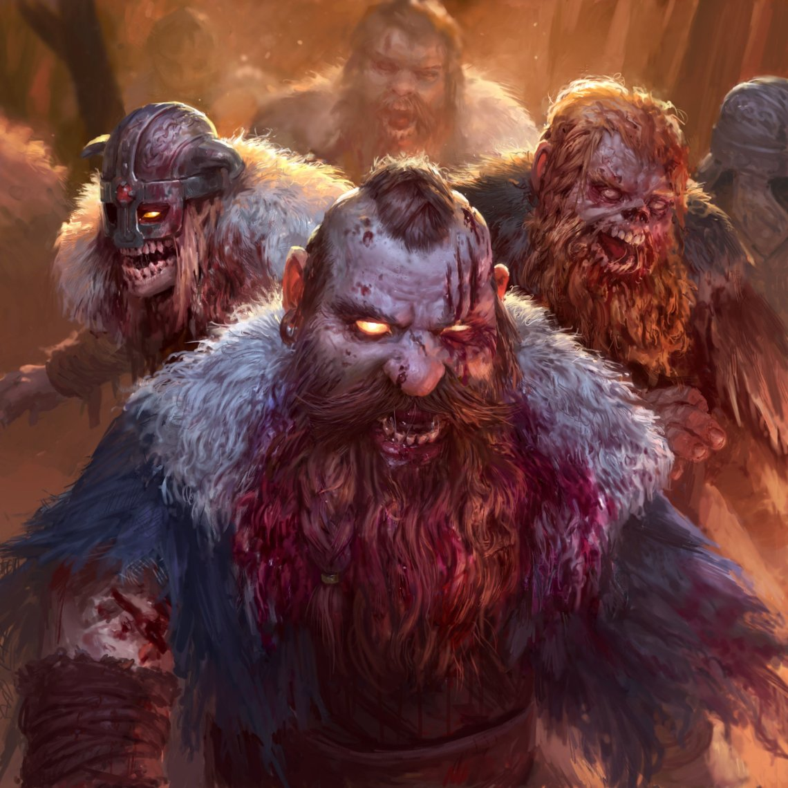 Blight of the inmortals zombie dwarf