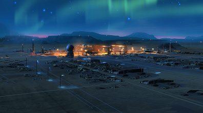 Homeworld Deserts of Kharak Base Concept Art