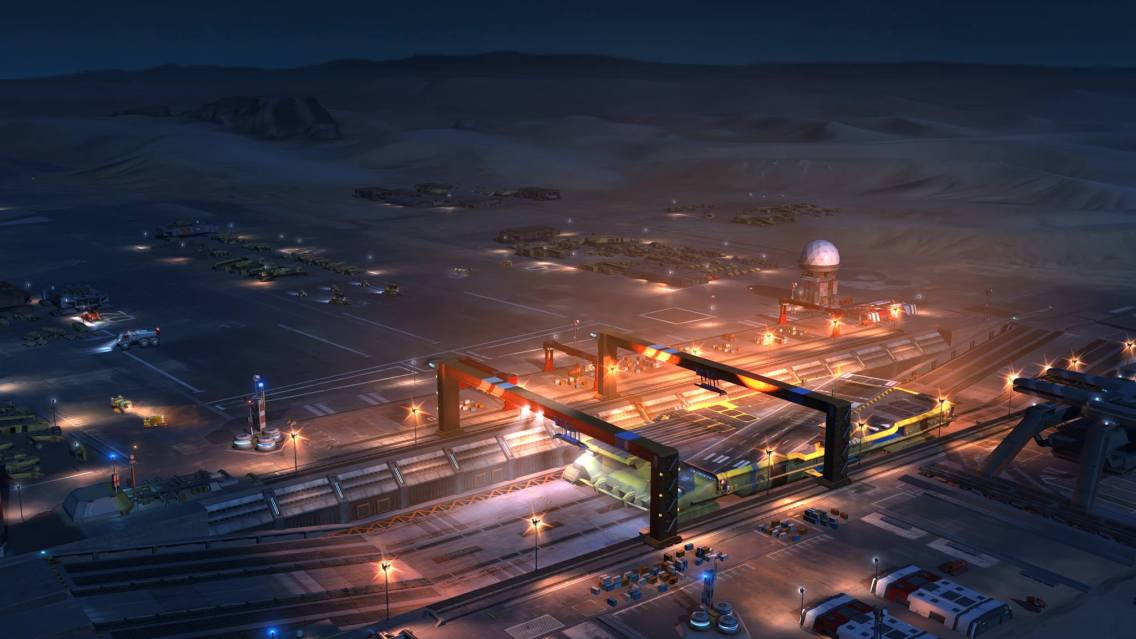Homeworld Deserts of Kharak In-game screenshot