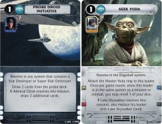 Star Wars Rebellion Cartas