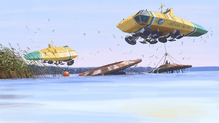 Tales from the Loop Simon Stalenhag 7