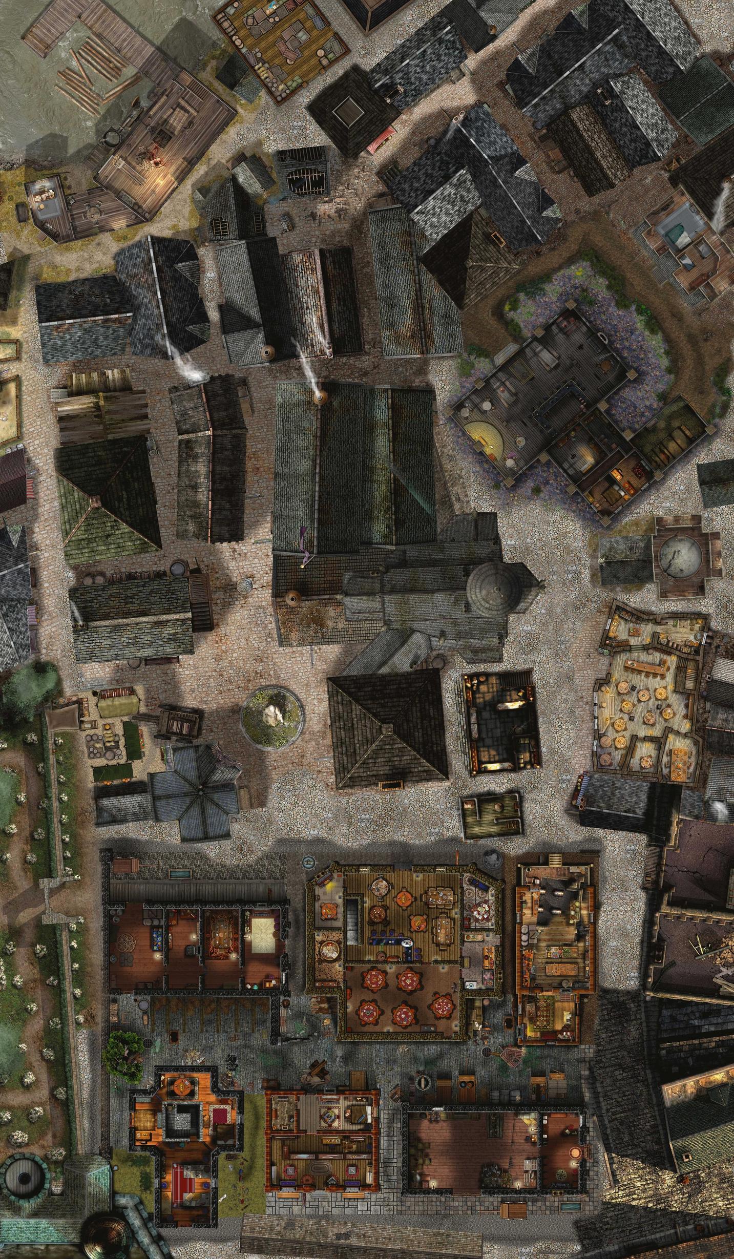 1000+ Mapas Gratis Mapa Completo del Pueblo