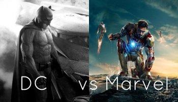 diferencia entre las películas de Marvel y DC