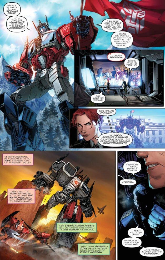 Revolution Los Autobots Retornan