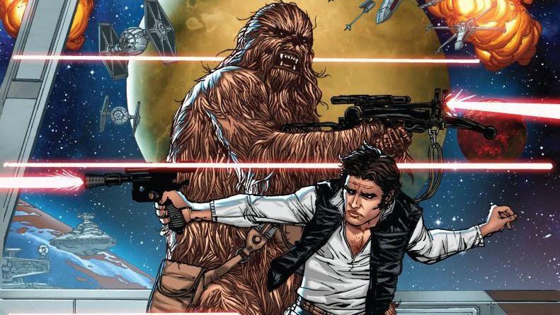 Nuevos cómics de Star Wars
