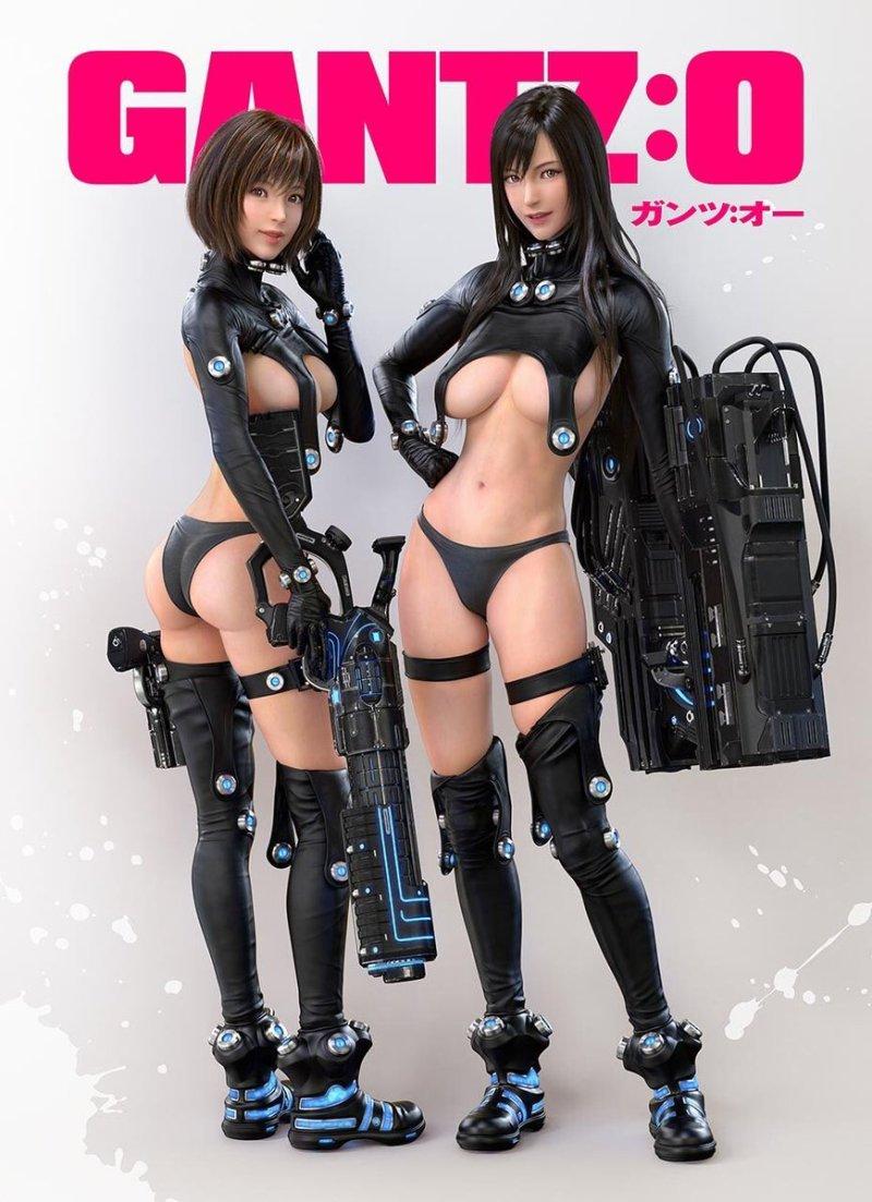 Gantz: O Reika and Yamazaki