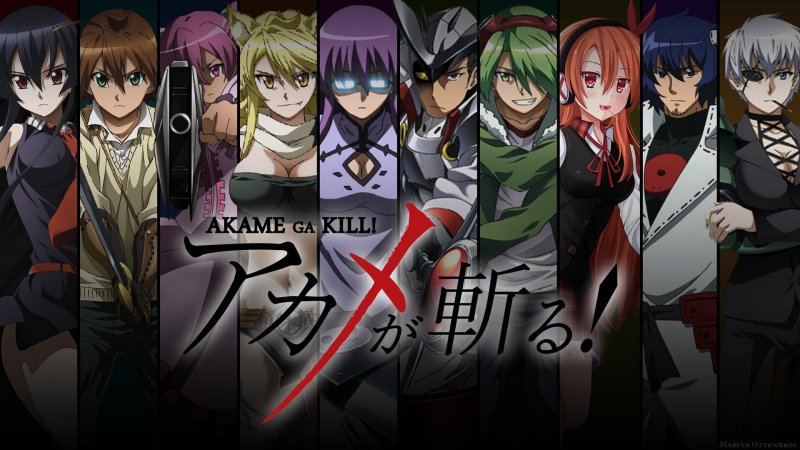 Akame ga Kill Night Raid