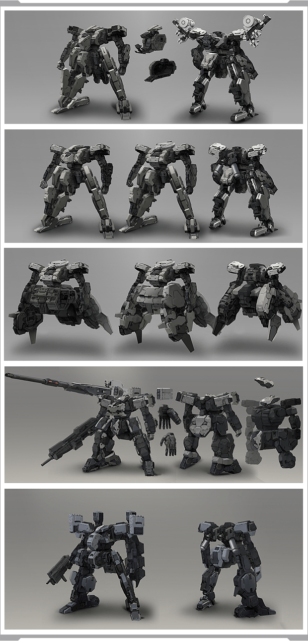 Dual Gear Mechs