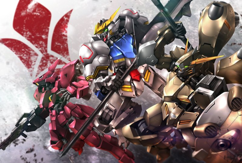 Los Gundam de Iron Blooded Orphans