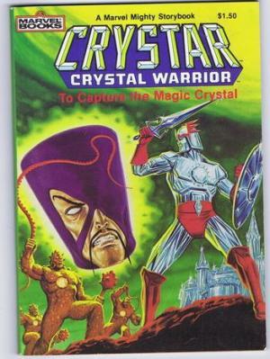 Crystar Portada de Cómic Crystar contra guerreros del Magma