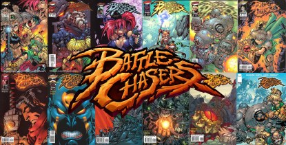 Battle Chasers Comics