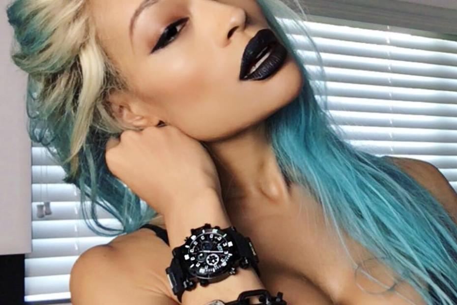 Alicia Marie Dark Lips