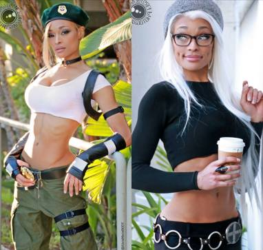 Alicia Marie Sonya Blade and Hipster Storm