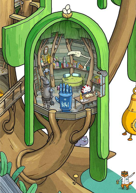 Fuerte en el Árbol de Hora de Aventuras sección 1