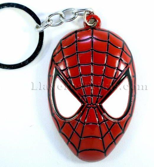 Llaveros de películas Máscara de Spider-Man
