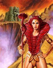 He-Man y los Amos del Universo Teela armadura de Serpiente
