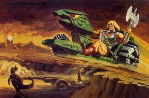 He-Man y los Amos del Universo vehículo 1