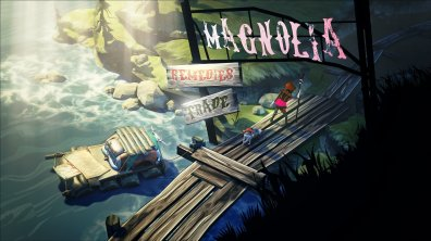 The Flame in the Flood Gameplay en Español estación Magnolia