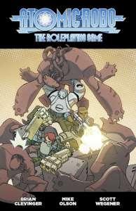Atomic Robo RPG Navidad en Julio en DriveThruRPG