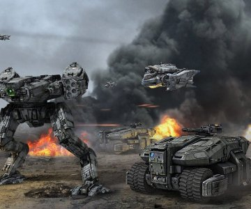 Battlefield por Stephane Chasseloup