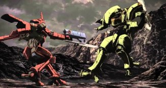 Break Blade Combate entre mechs