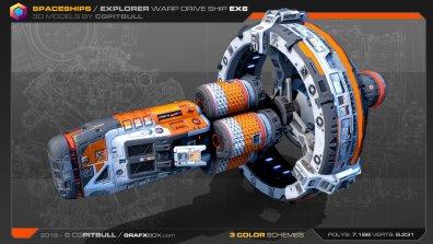 Explorer Warp Drive EX6 Stephane Chasseloup
