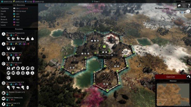 Gladius Relics of War Gameplay en Español Ciudad