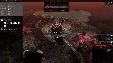 Gladius: Relics of War Interface