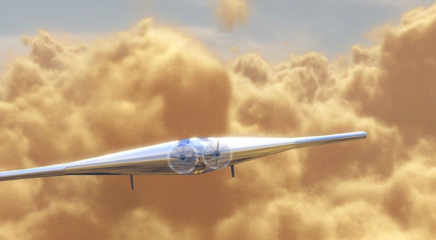 Colonización de Venus Drone Inflable