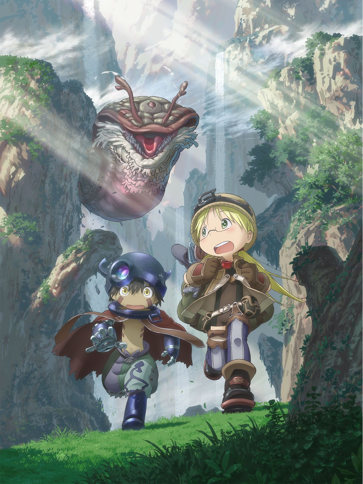 Made in Abyss Protagonistas, Riko y Reg