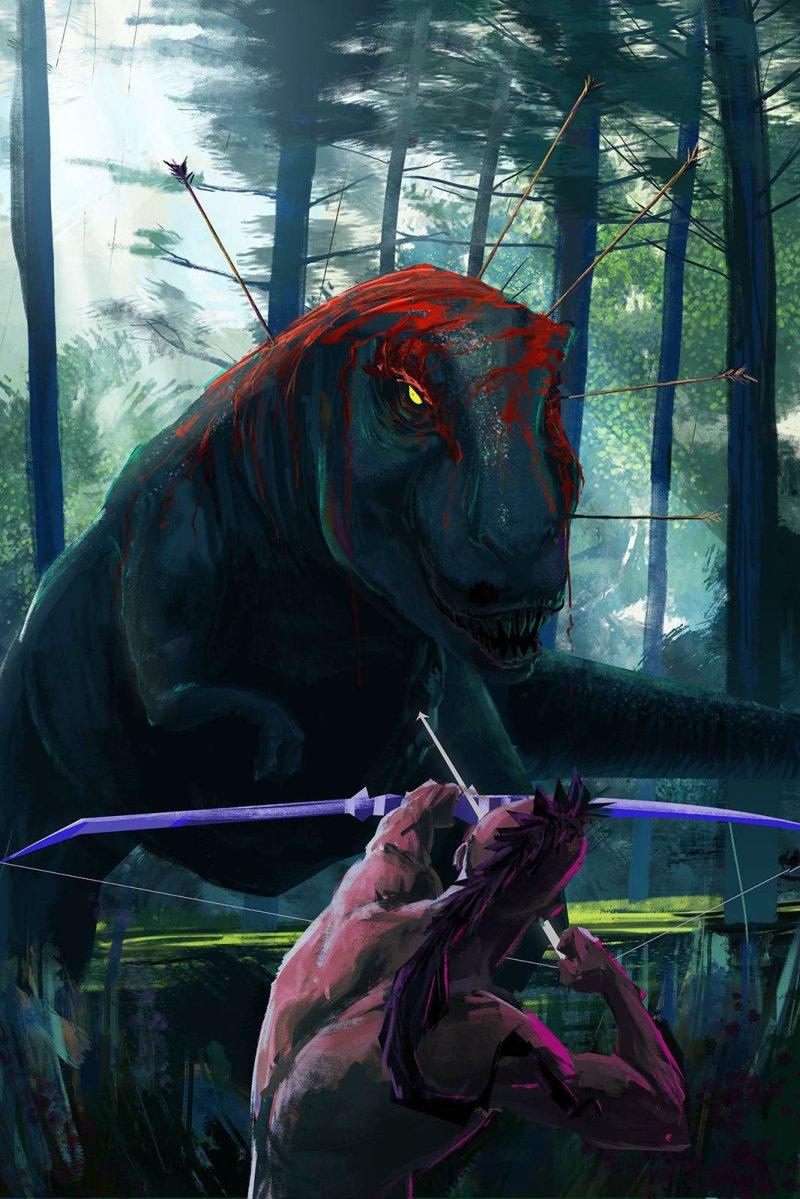 Turok-dinosaur-Hunter-por-Alejandro-Segura
