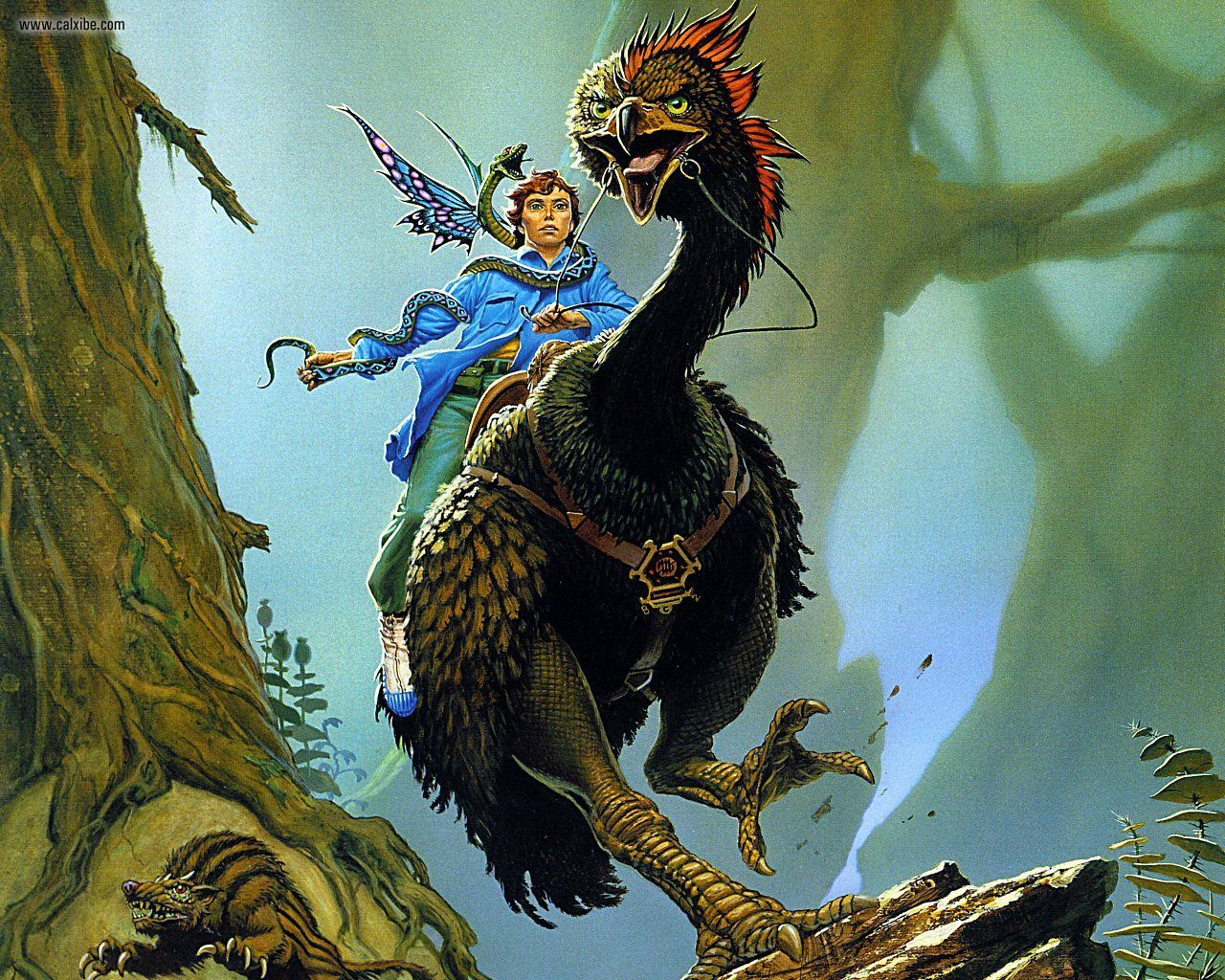 Pursuit por MIchael Whelan