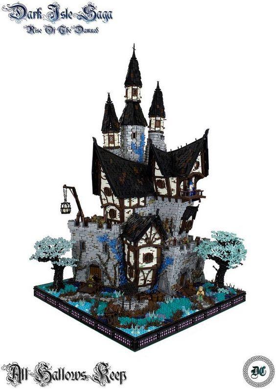 Castillo encantado en LEGO